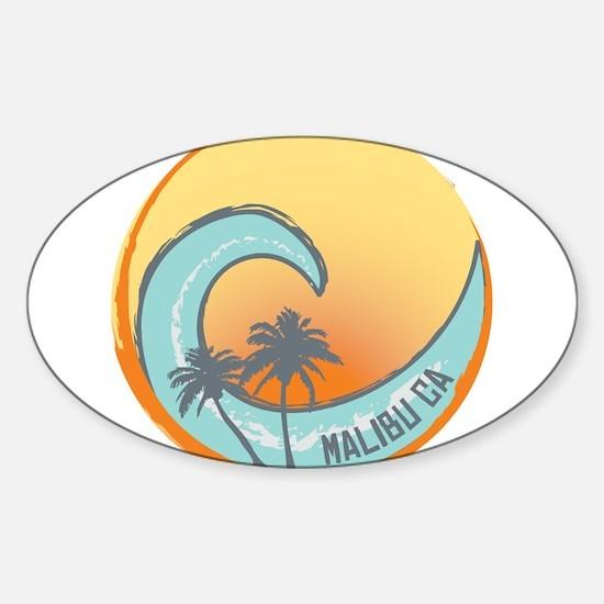 Malibu Sunset Crest Decal