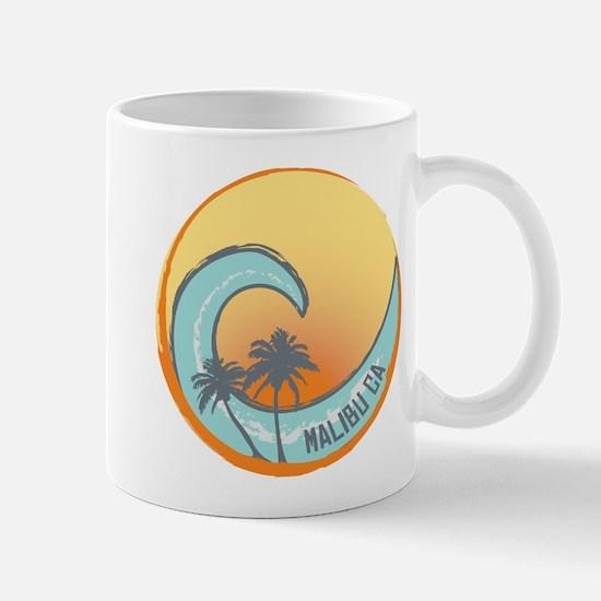 Malibu Sunset Crest Mug