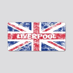 Liverpool2 Aluminum License Plate