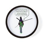 Elphabas a Diva... Wall Clock