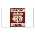 Chambliss Route 66 Sticker