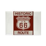 Chambliss Route 66 Rectangle Magnet (100 pack)