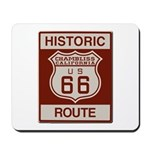 Chambliss Route 66 Mousepad