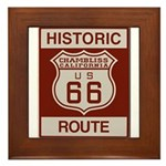Chambliss Route 66 Framed Tile