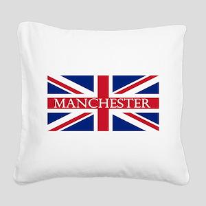 Manchester1 Square Canvas Pillow