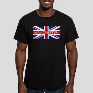 Manchester1 Men's Fitted T-Shirt (dark)