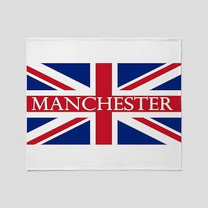 Manchester1 Throw Blanket