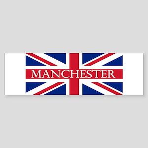Manchester1 Sticker (Bumper)