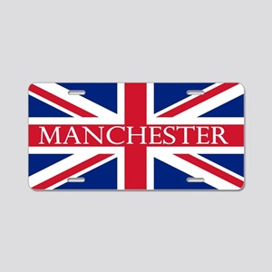 Manchester1 Aluminum License Plate