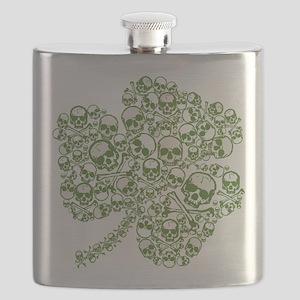skullwhitefade Flask