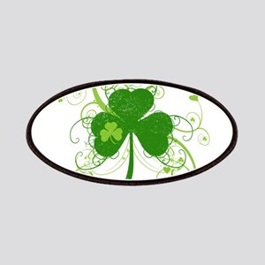 St Paddys Day Fancy Shamrock Patch