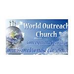 World Outreach Church Wall Decal