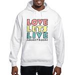 Love Lets Live (alt) Hoodie