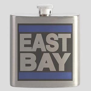 east bay blue Flask