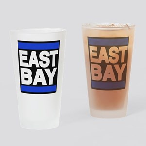 east bay blue Drinking Glass