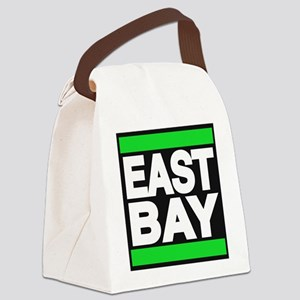 east bay green Canvas Lunch Bag