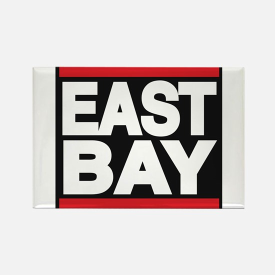 east bay red Rectangle Magnet