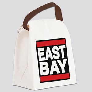 east bay red Canvas Lunch Bag