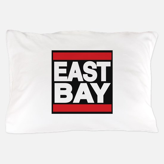 east bay red Pillow Case