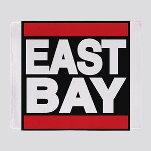 east bay red Throw Blanket