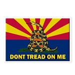 Arizona Dont Tread On Me Postcards (Package of 8)