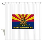 Arizona Dont Tread On Me Shower Curtain