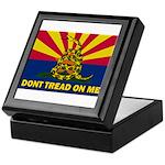 Arizona Dont Tread On Me Keepsake Box