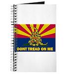 Arizona Dont Tread On Me Journal