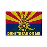 Arizona Dont Tread On Me Rectangle Magnet (100 pac