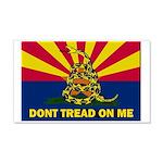 Arizona Dont Tread On Me Wall Decal
