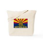 Arizona Dont Tread On Me Tote Bag