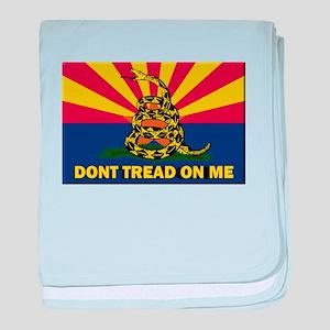 Arizona Dont Tread On Me baby blanket
