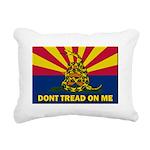 Arizona Dont Tread On Me Rectangular Canvas Pillow