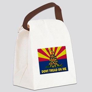 Arizona Dont Tread On Me Canvas Lunch Bag