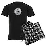 Sub Vet Badge Men's Dark Pajamas