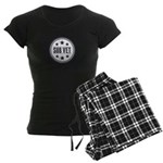 Sub Vet Badge Women's Dark Pajamas