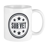 Sub Vet Badge Mug
