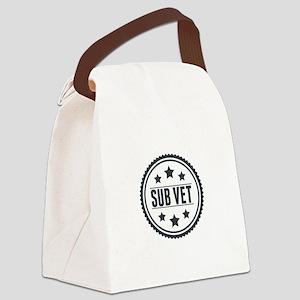 Sub Vet Badge Canvas Lunch Bag