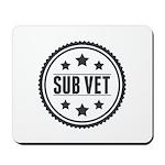 Sub Vet Badge Mousepad