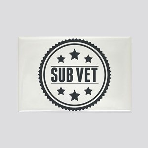 Sub Vet Badge Rectangle Magnet
