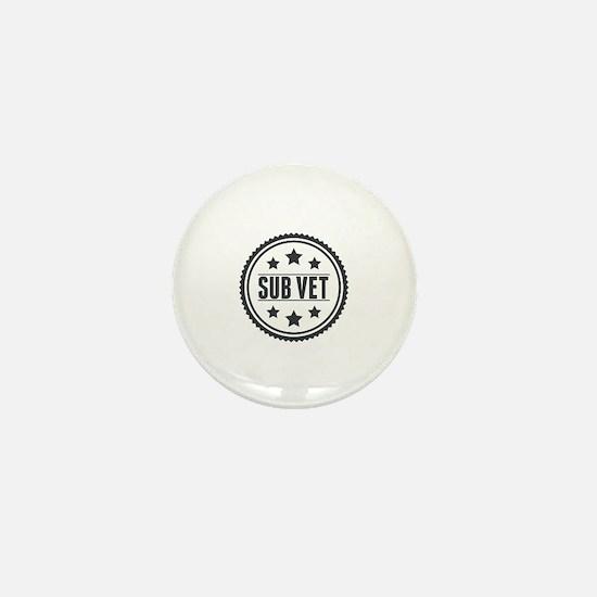 Sub Vet Badge Mini Button