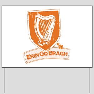 Erin Go Braugh (Harp 1) Yard Sign