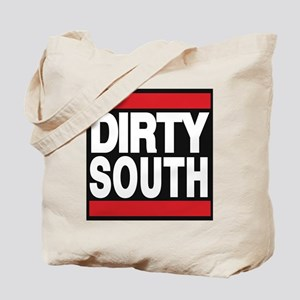 dirty south red Tote Bag