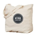 Pride Runs Deep Badge Tote Bag