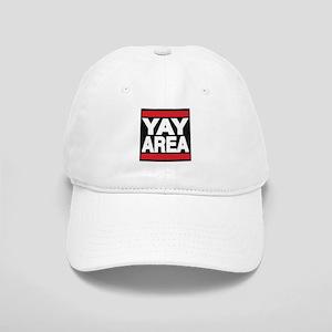 yay area red Baseball Cap
