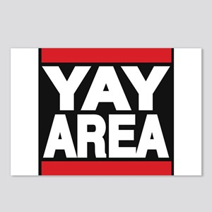 yay area red Postcards (Package of 8)