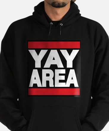 yay area red Hoodie