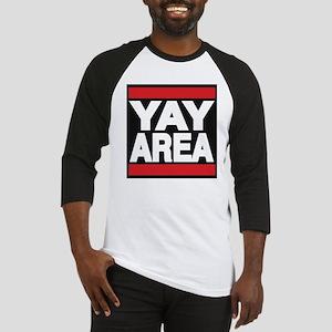 yay area red Baseball Jersey