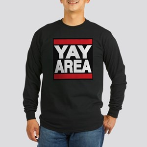 yay area red Long Sleeve T-Shirt