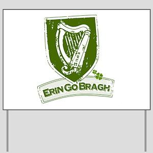 Erin Go Braugh (Harp 2) Yard Sign
